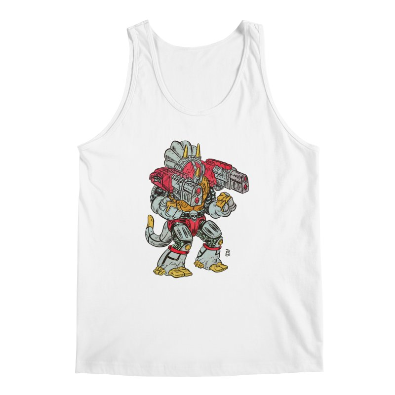 Tricera-Tank Men's Regular Tank by JB Roe Artist Shop