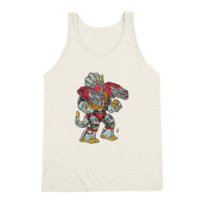 Tricera-Tank Men's Triblend Tank by JB Roe Artist Shop