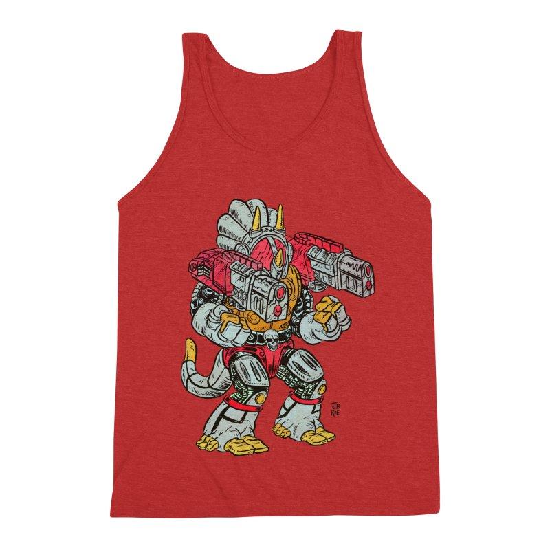 Tricera-Tank Men's Triblend Tank by JB Roe Artist Shop
