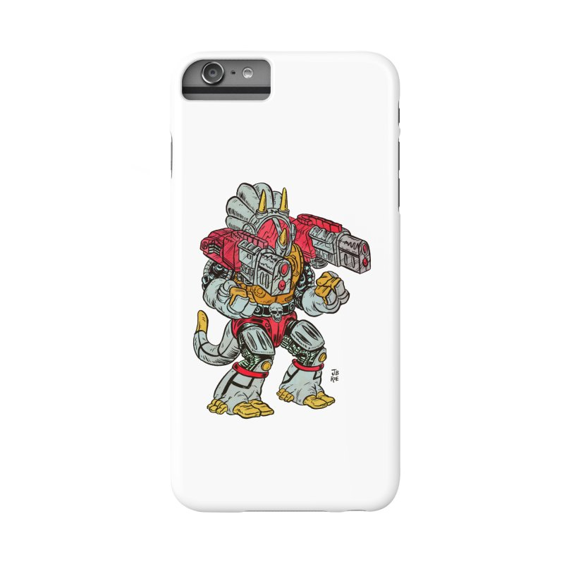 Tricera-Tank Accessories Phone Case by JB Roe Artist Shop