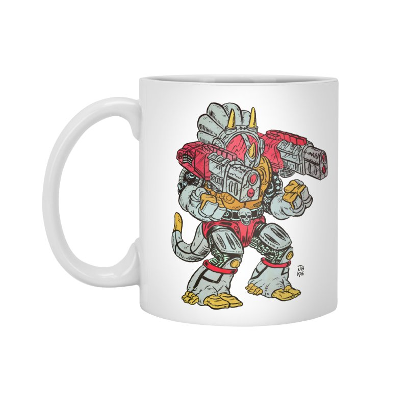 Tricera-Tank Accessories Mug by JB Roe Artist Shop