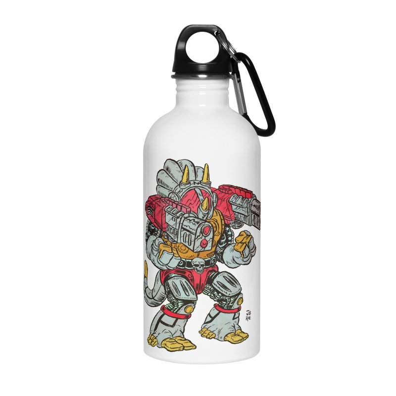 Tricera-Tank Accessories Water Bottle by JB Roe Artist Shop