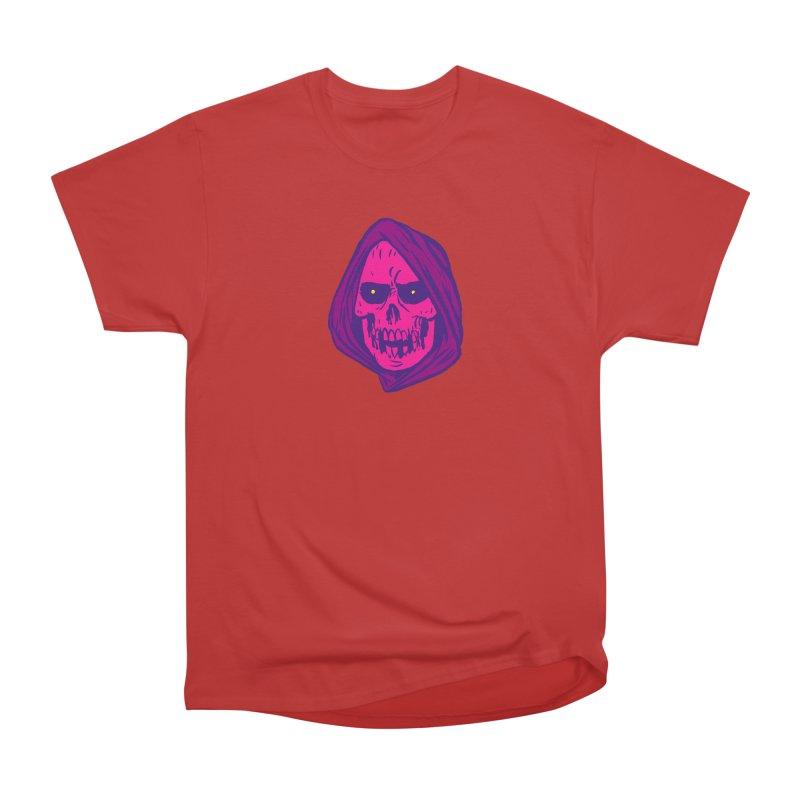 Skull Women's Heavyweight Unisex T-Shirt by JB Roe Artist Shop
