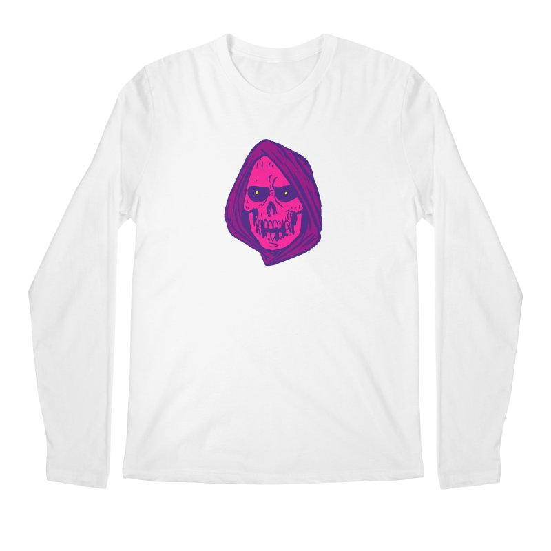 Skull Men's Regular Longsleeve T-Shirt by JB Roe Artist Shop