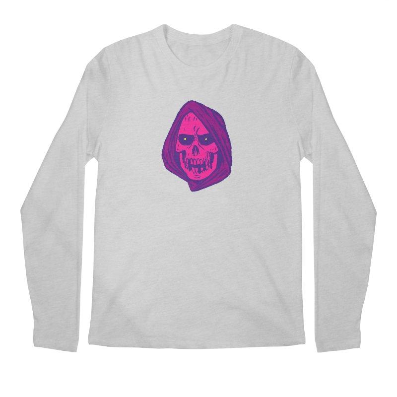 Skull Men's Regular Longsleeve T-Shirt by JB Roe Artist Shop