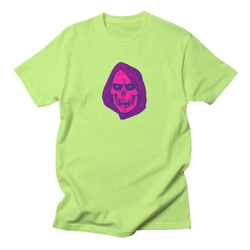Skull Men's Regular T-Shirt by JB Roe Artist Shop