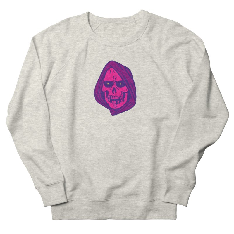 Skull Women's French Terry Sweatshirt by JB Roe Artist Shop