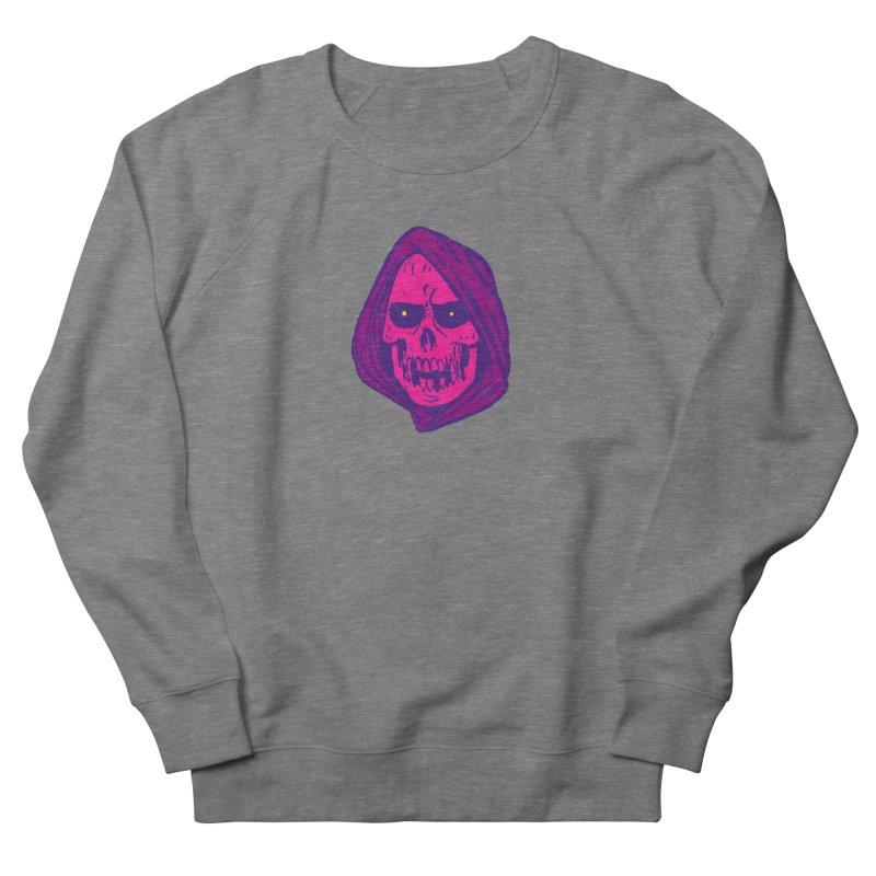 Skull Men's French Terry Sweatshirt by JB Roe Artist Shop