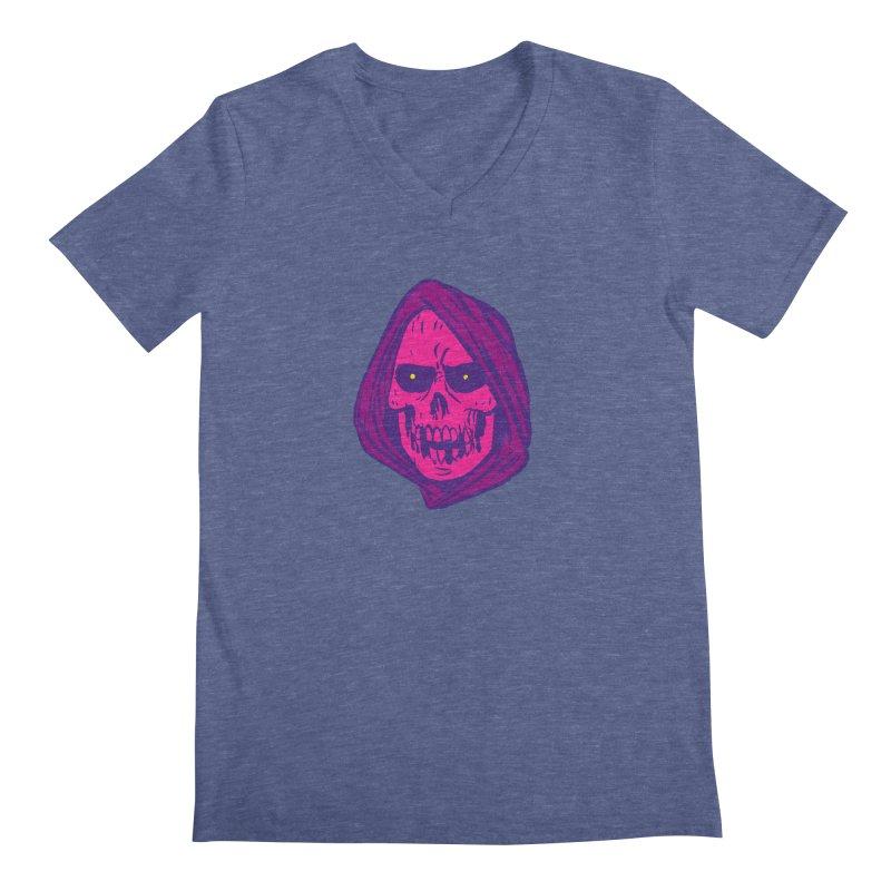 Skull Men's Regular V-Neck by JB Roe Artist Shop