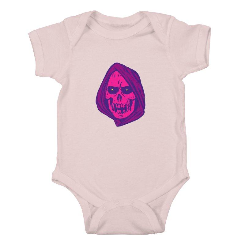 Skull Kids Baby Bodysuit by JB Roe Artist Shop