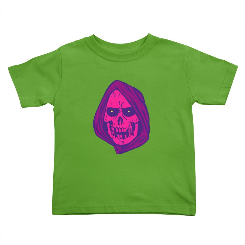 Skull Kids Toddler T-Shirt by JB Roe Artist Shop