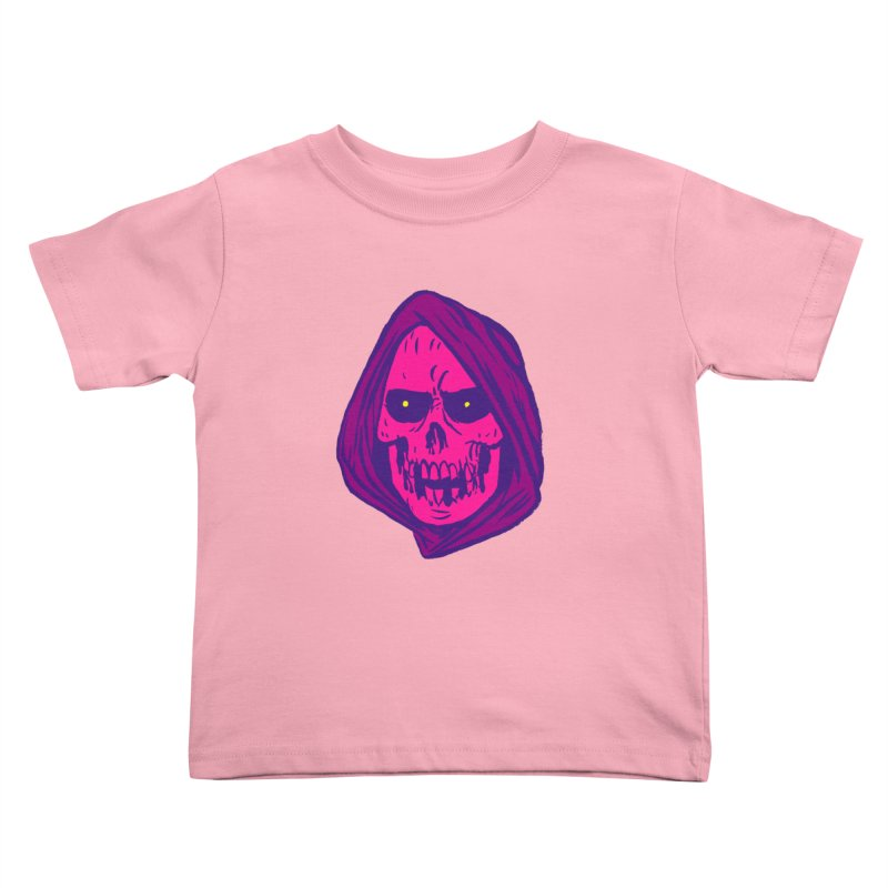 Skull Kids Toddler T-Shirt by JB Roe Artist Shop