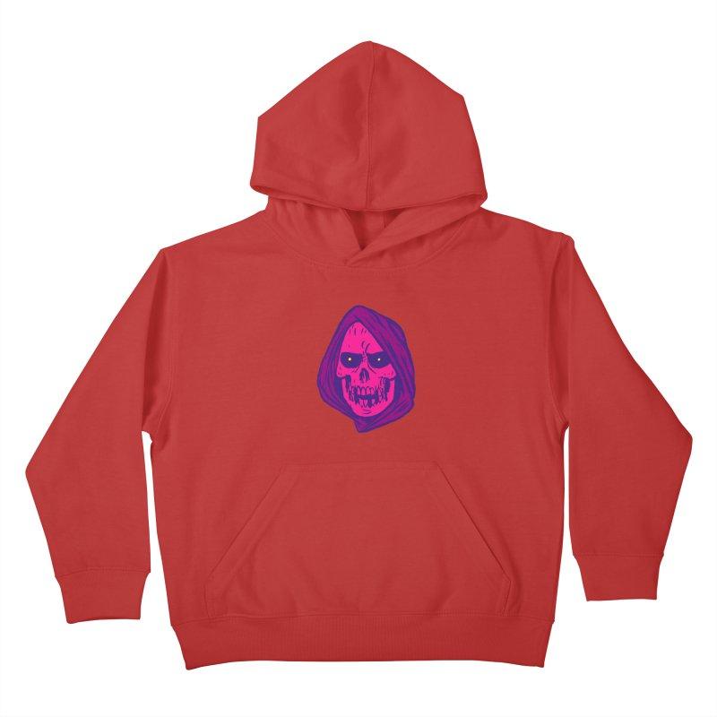 Skull Kids Pullover Hoody by JB Roe Artist Shop