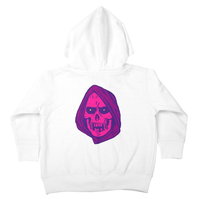 Skull Kids Toddler Zip-Up Hoody by JB Roe Artist Shop