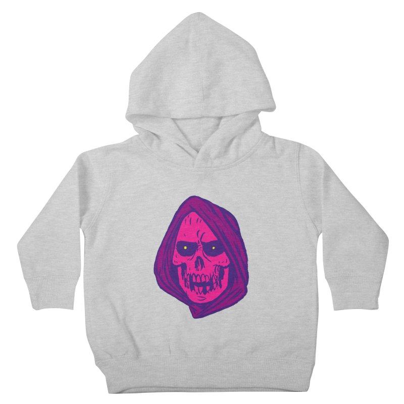 Skull Kids Toddler Pullover Hoody by JB Roe Artist Shop
