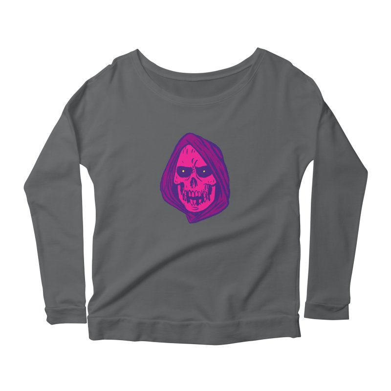 Skull Women's Longsleeve T-Shirt by JB Roe Artist Shop
