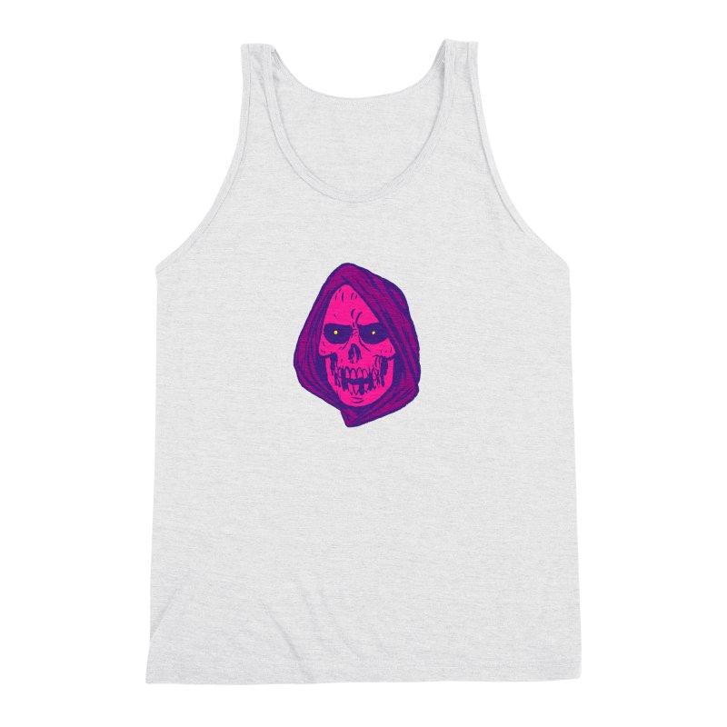 Skull Men's Triblend Tank by JB Roe Artist Shop