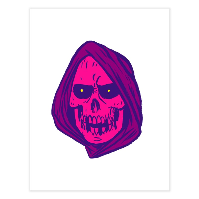 Skull Home Fine Art Print by JB Roe Artist Shop