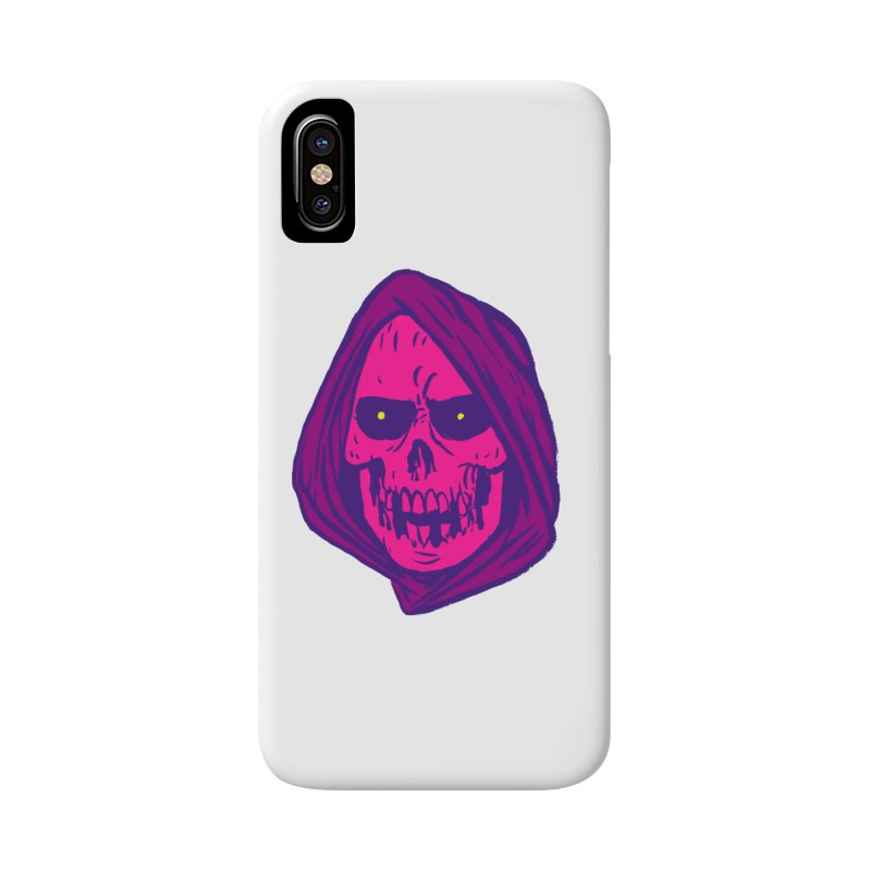 Skull Accessories Phone Case by JB Roe Artist Shop