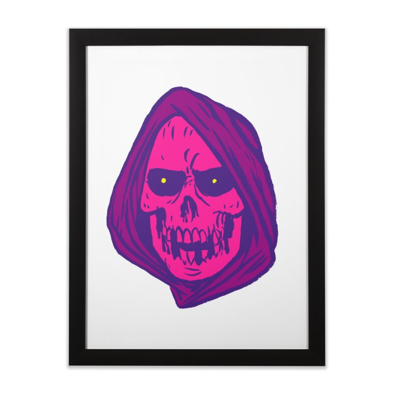 Skull Home Framed Fine Art Print by JB Roe Artist Shop