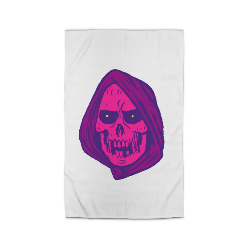 Skull Home Rug by JB Roe Artist Shop