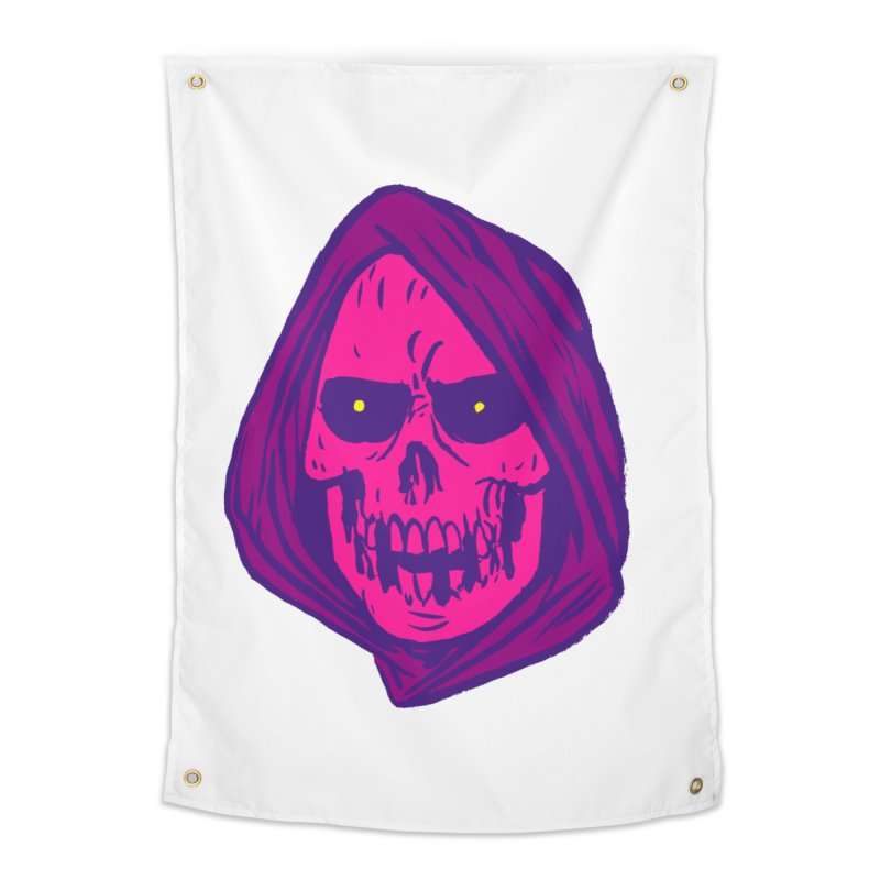 Skull Home Tapestry by JB Roe Artist Shop