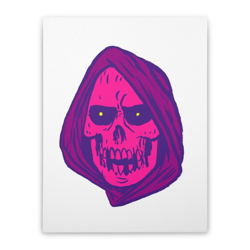 Skull Home Stretched Canvas by JB Roe Artist Shop