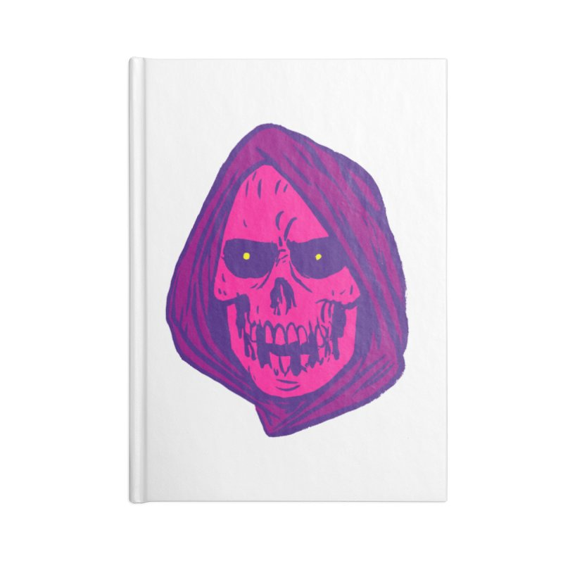 Skull Accessories Lined Journal Notebook by JB Roe Artist Shop