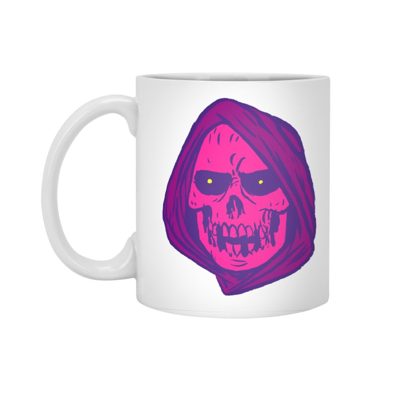 Skull Accessories Standard Mug by JB Roe Artist Shop