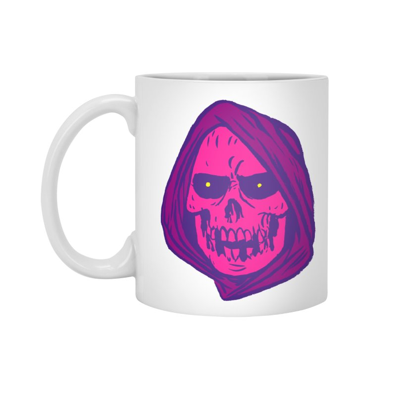 Skull Accessories Mug by JB Roe Artist Shop