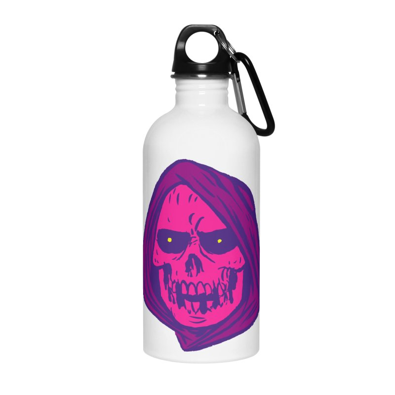 Skull Accessories Water Bottle by JB Roe Artist Shop