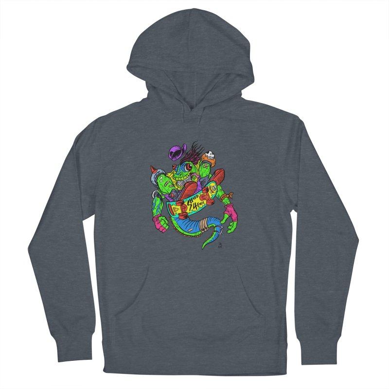 M Gecko Women's Pullover Hoody by JB Roe Artist Shop