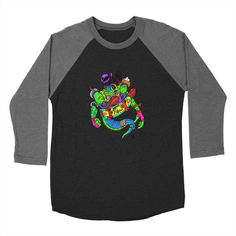 M Gecko Women's Longsleeve T-Shirt by JB Roe Artist Shop