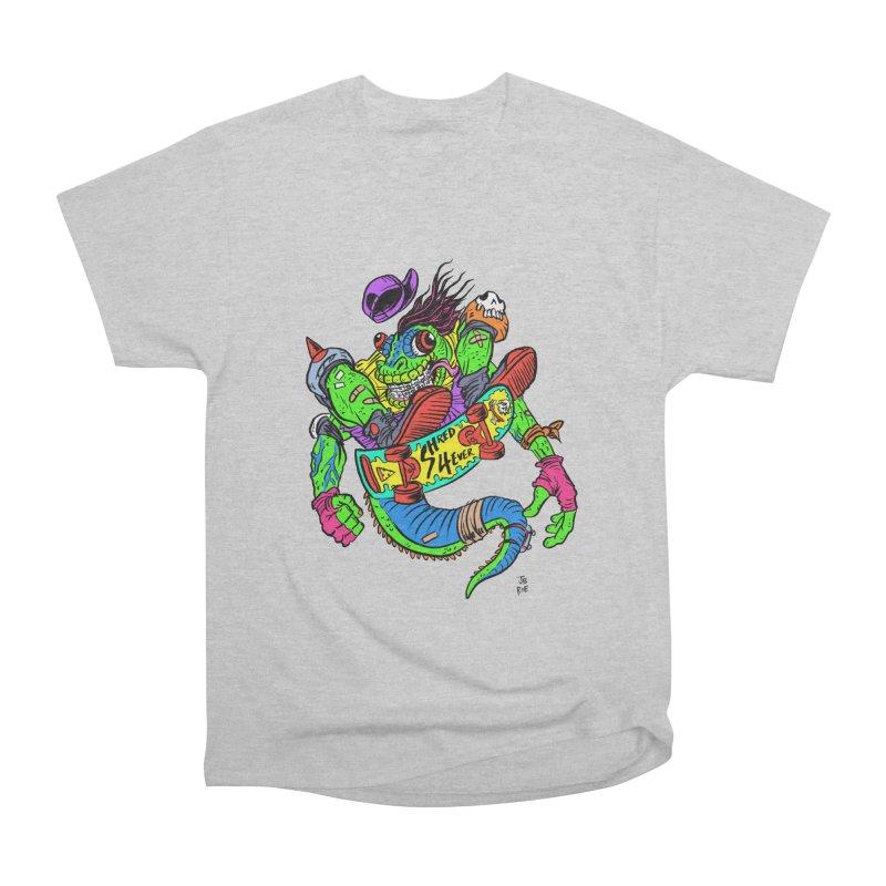 M Gecko Men's Heavyweight T-Shirt by JB Roe Artist Shop