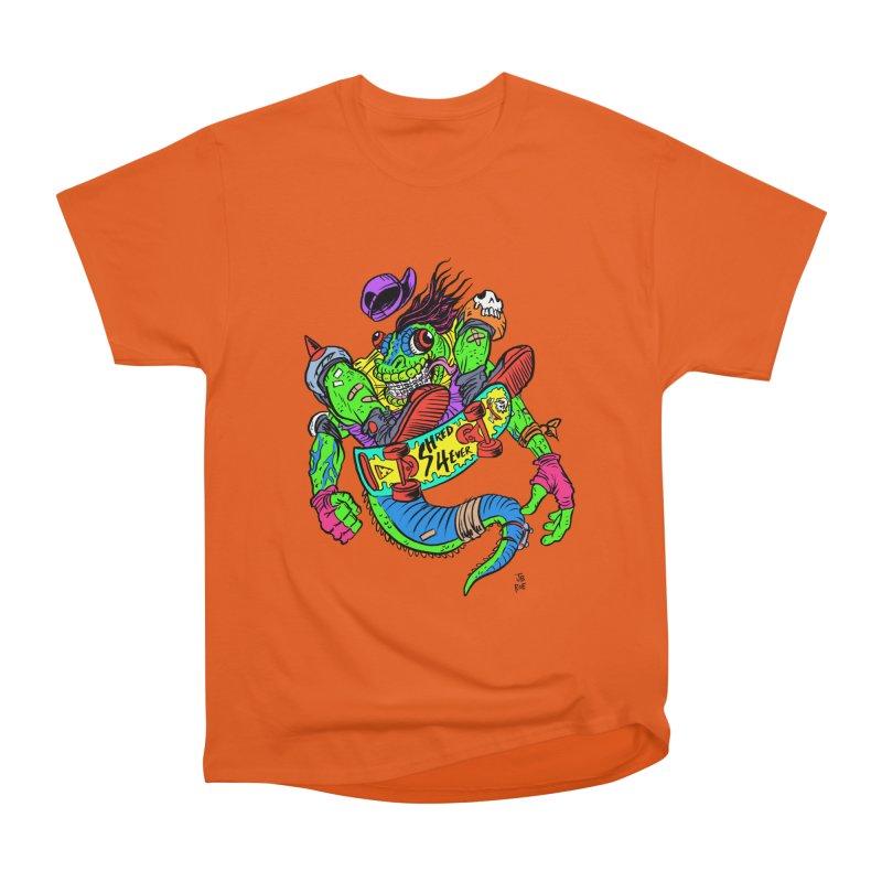 M Gecko Women's Heavyweight Unisex T-Shirt by JB Roe Artist Shop