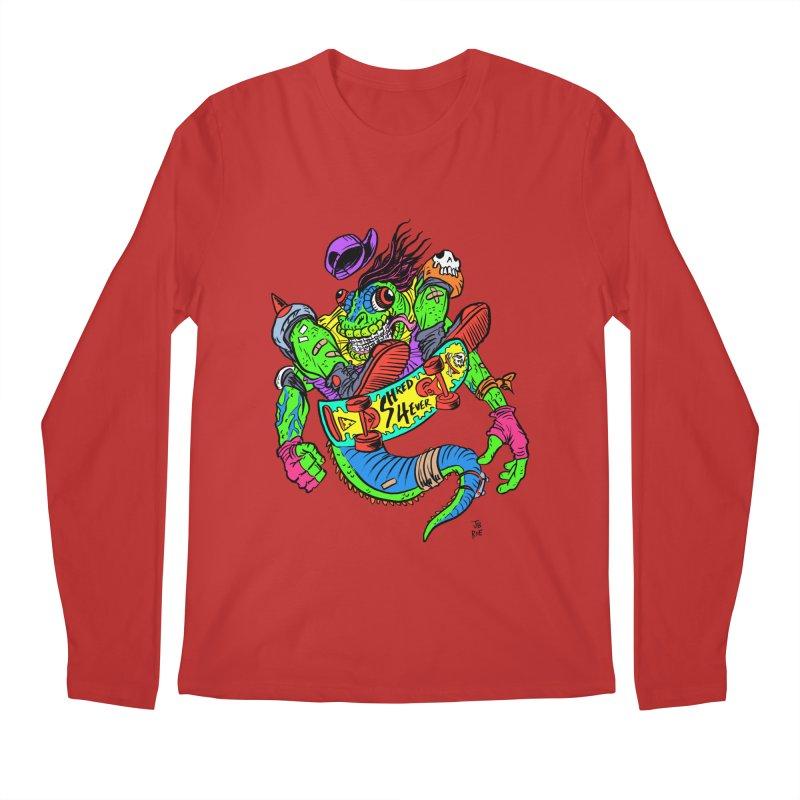 M Gecko Men's Regular Longsleeve T-Shirt by JB Roe Artist Shop