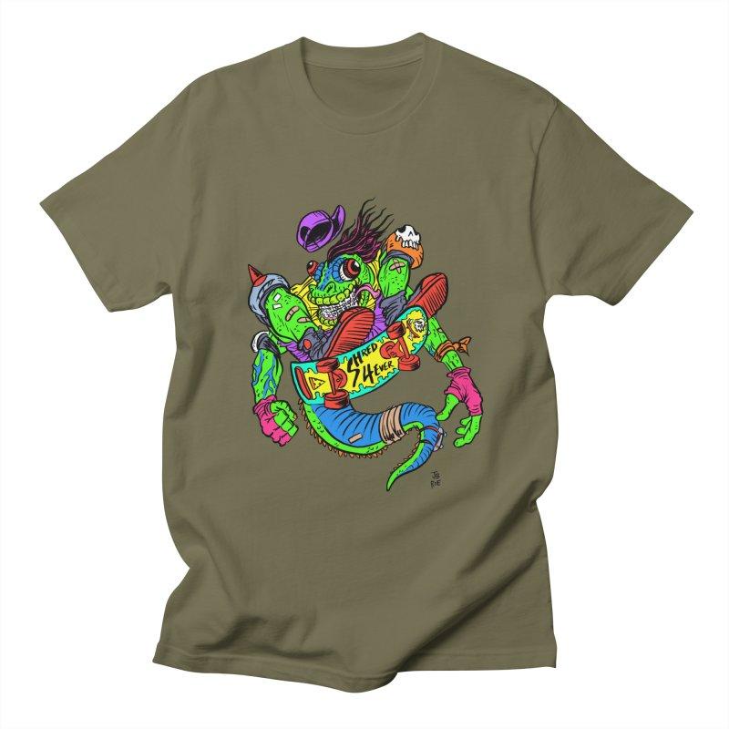 M Gecko Men's Regular T-Shirt by JB Roe Artist Shop