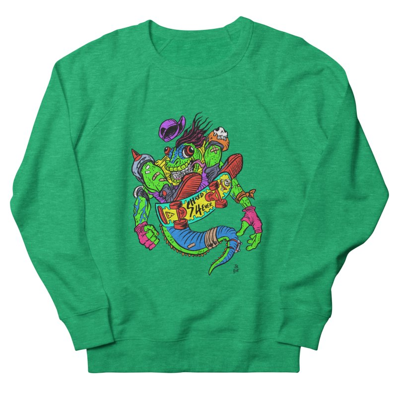 M Gecko Women's Sweatshirt by JB Roe Artist Shop