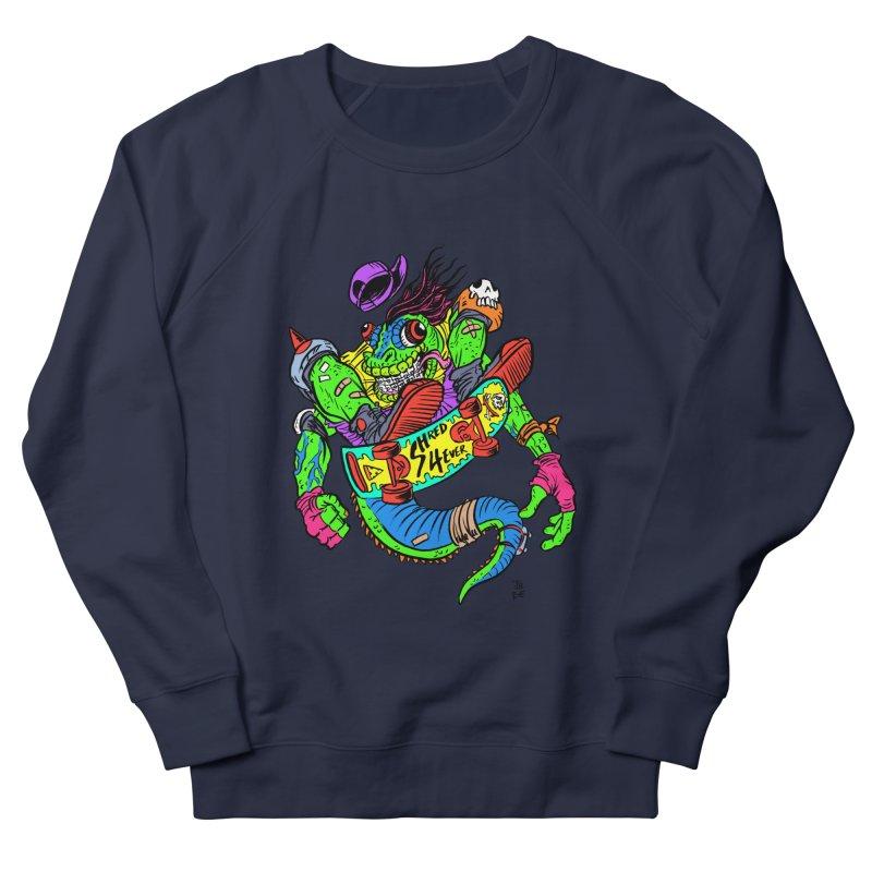 M Gecko Women's French Terry Sweatshirt by JB Roe Artist Shop