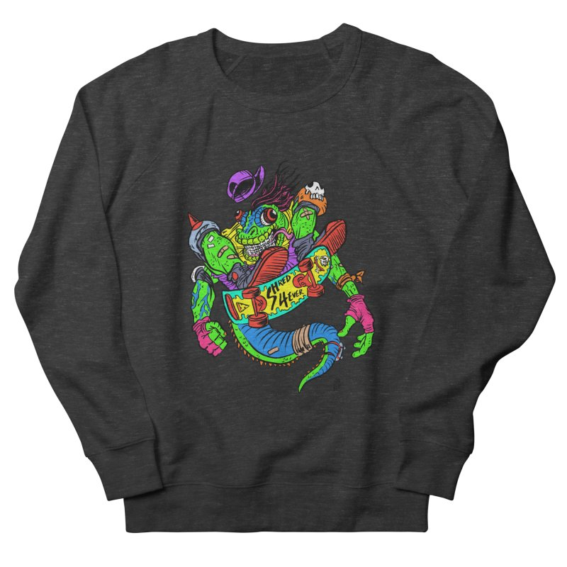 M Gecko Men's French Terry Sweatshirt by JB Roe Artist Shop