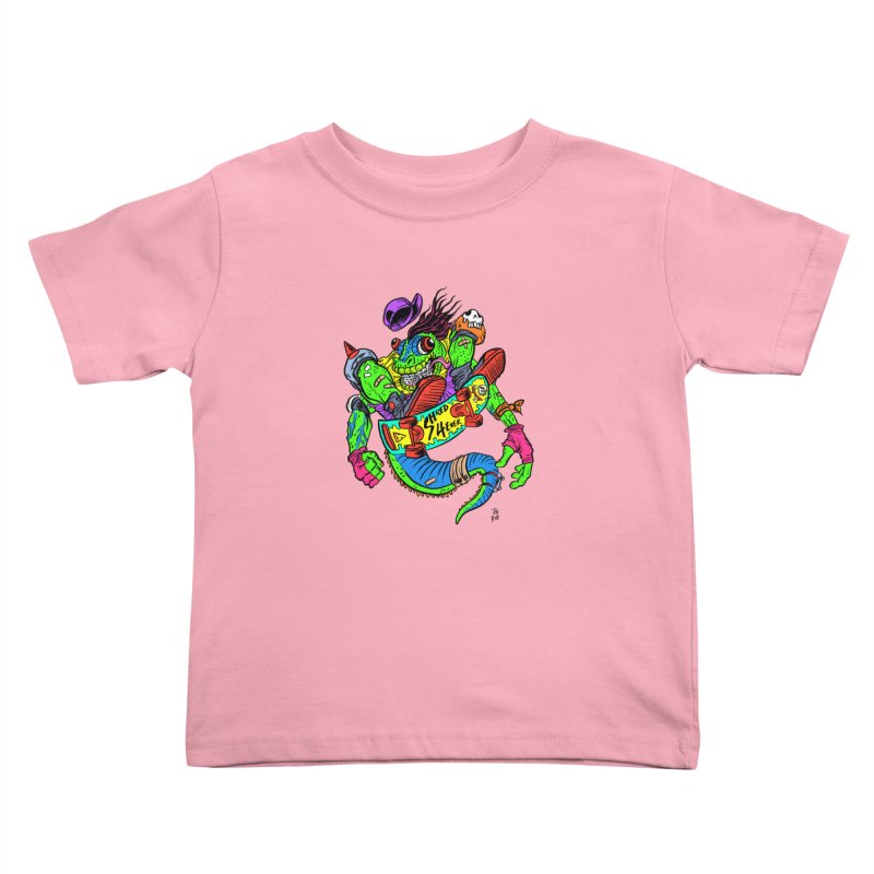 M Gecko Kids Toddler T-Shirt by JB Roe Artist Shop
