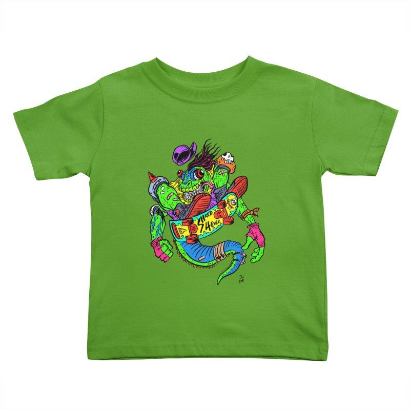 M Gecko Kids Toddler T-Shirt by JB Roe Artist Shop
