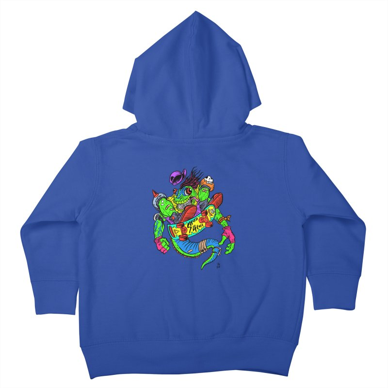 M Gecko Kids Toddler Zip-Up Hoody by JB Roe Artist Shop