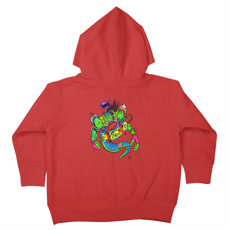 M Gecko Kids Toddler Zip-Up Hoody by JB Roe Artist Shop