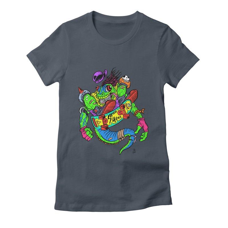 M Gecko Women's T-Shirt by JB Roe Artist Shop