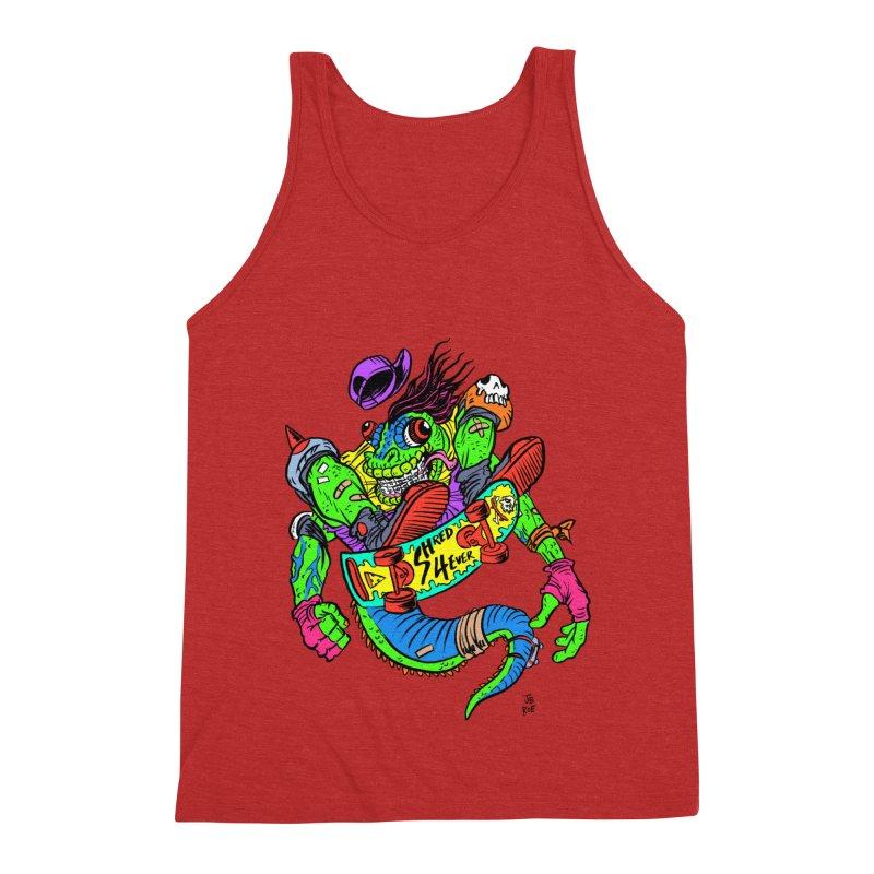 M Gecko Men's Triblend Tank by JB Roe Artist Shop