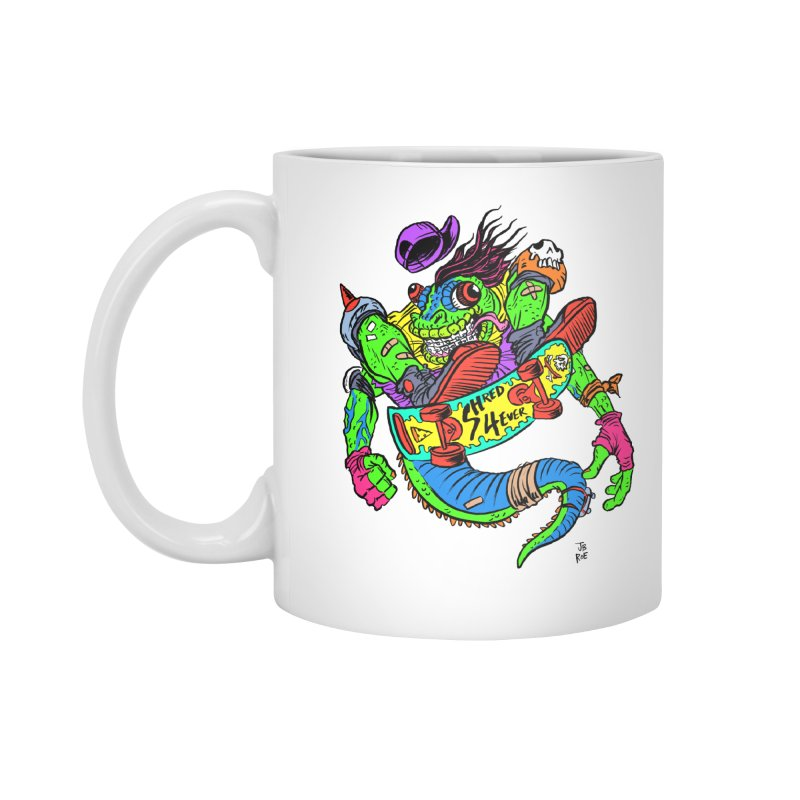 M Gecko Accessories Mug by JB Roe Artist Shop