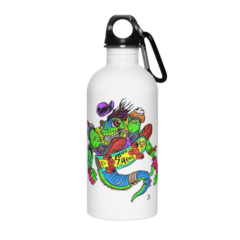 M Gecko Accessories Water Bottle by JB Roe Artist Shop