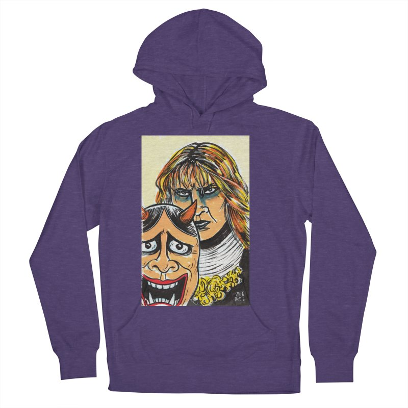 The Dangerous Queen Men's French Terry Pullover Hoody by JB Roe Artist Shop