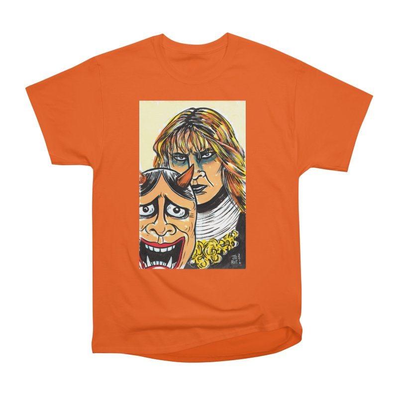 The Dangerous Queen Women's Heavyweight Unisex T-Shirt by JB Roe Artist Shop